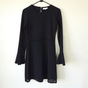 PARKER Flare Bell Sleeve Dress
